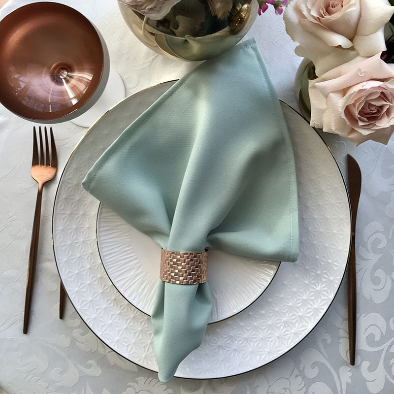 Mint Color Napkin