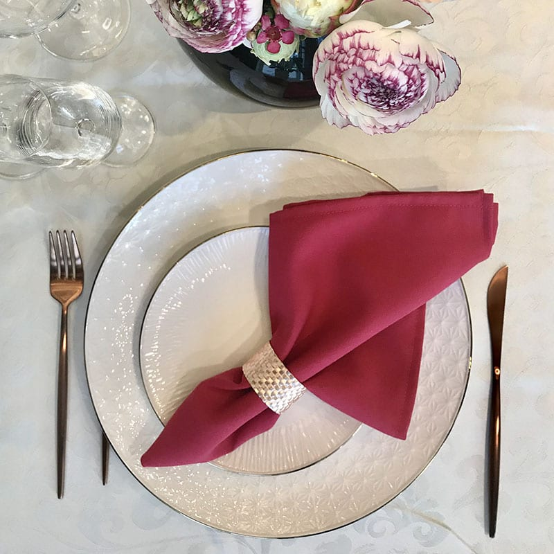 Fuchsia Color Napkin