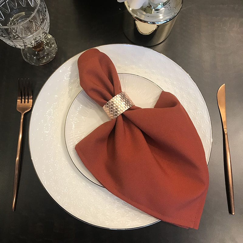 Orange Color Napkin